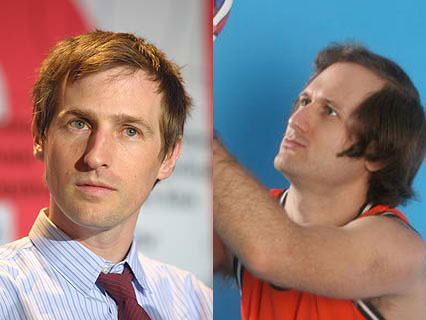 Spike Jonze and his brother Squeak E. Clean